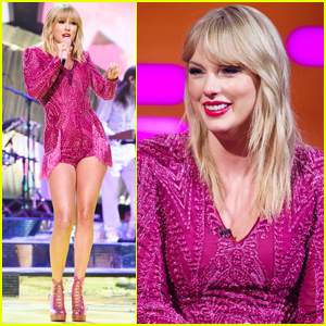 Taylor Swift Performs New Song 'ME!' on 'Graham Norton Show'!