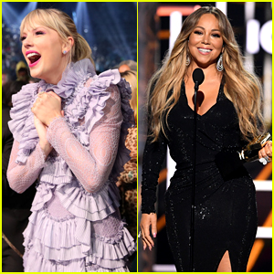 Taylor Swift's Reaction to Mariah Carey at BBMAs is Everything