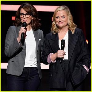 Tina Fey & Amy Poehler Joke About Golden Globes Gigs at NBC Upfronts