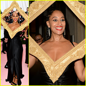 Tracee Ellis Ross' Stylist Explains Her Picture Frame Outfit at Met Gala 2019