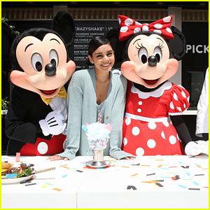 Vanessa Hudgens Opens New Black Tap Restaurant Location in Downtown Disney