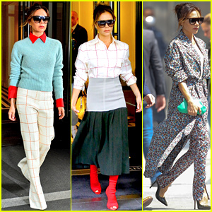 Victoria Beckham Shows Off Three Stylish Looks in NYC!