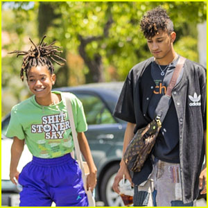 Willow Smith's Mom Jada Pinkett Smith Took Her 'Aladdin' Premiere Outfit Photos In An Alley