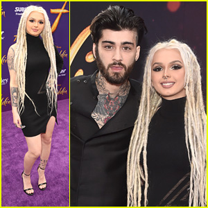Zhavia Ward & Zayn Malik Bring 'A Whole New World' To 'Aladdin's LA Premiere
