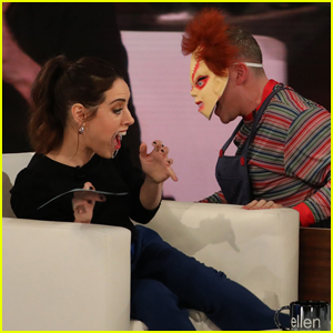Aubrey Plaza Gets Terrifying Scare from Chucky - Watch Now!