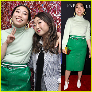 Awkwafina Promotes 'The Farewell' After Booking 'SpongeBob' Role!
