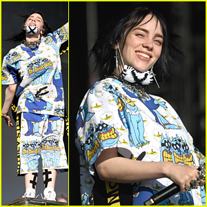 Billie Eilish Performs at Glastonbury Festival For First Time