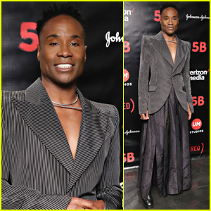 Billy Porter Steps Out for '5B' Screening in NYC