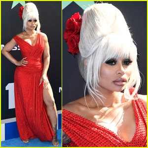Blac Chyna Dazzles in Red for BET Awards 2019