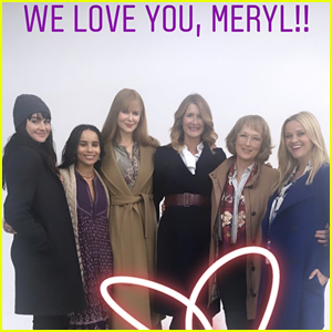 The 'Big Little Lies' Cast Pays Tribute to Meryl Streep on Her 70th Birthday!