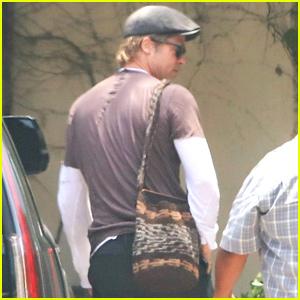 Brad Pitt Steps Out for Solo Errand Run in Malibu
