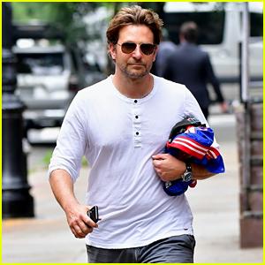 Bradley Cooper Visits Ex Irina Shayk at New York City Apartment