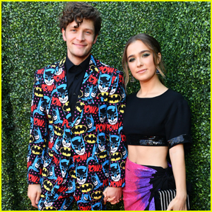 Brett Dier Wears Batman-Print Suit to MTV Movie & TV Awards 2019 with Girlfriend Haley Lu Richardson!