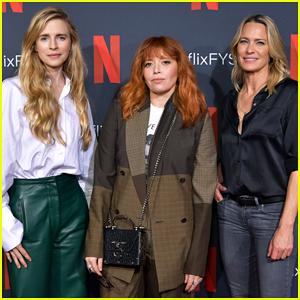 Brit Marling, Natasha Lyonne & Robin Wright Team Up at Netflix FYSEE Change In Focus Event!