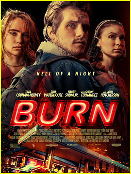 Josh Hutcherson & Suki Waterhouse Star in 'Burn' - Get a First Look at the Poster & Stills! (Exclusive)