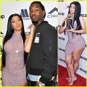 Cardi B Gets Support from Offset at ASCAP Rhythm & Soul's Songwriter of the Year Honor!
