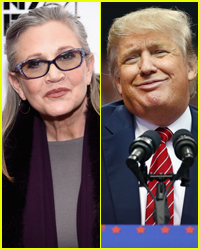 Will Carrie Fisher Replace Donald Trump's Star on the Hollywood Walk of Fame?