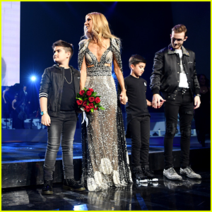 Celine Dion's Kids Join Her Onstage During Final Show of Her Las Vegas Residency - See the Pics!