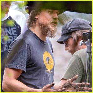 Charlie Hunnam Gets His Hands Dirty on 'Waldo' Set
