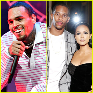Chris Brown Denies He Left Comments About Victor Cruz