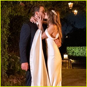 Chris Pratt & Katherine Schwarzenegger Share More Wedding Photos, Including Her Second Dress!