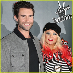 Christina Aguilera Speaks Out About Adam Levine's Choice to Leave 'The Voice'