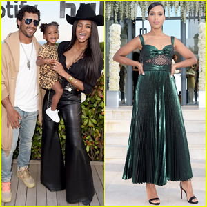 Ciara Gets Support from Russell Wilson & Daughter Sienna at Spotify x Hulu Cannes Party!