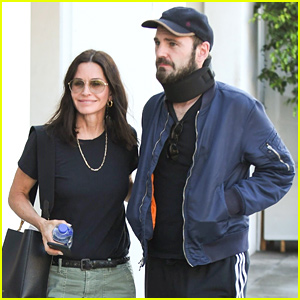 Courteney Cox & Johnny McDaid Step Out Amid His Surgery News