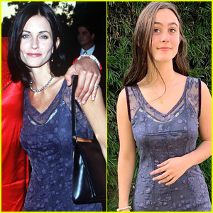 Courteney Cox's Daughter Coco Wears Her 'Snake Eyes' Premiere Dress From 1998!