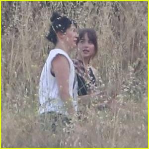 Dakota Johnson Films Hiking Scenes for Upcoming Romantic Drama 'Covers'