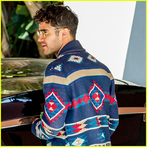 Darren Criss Gets Back to Work in LA After Paris Fashion Shows