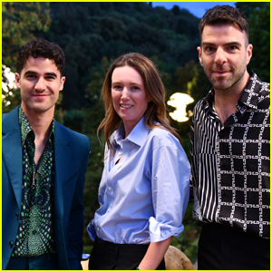 Darren Criss Joins Zachary Quinto at Givenchy Fashion Show in Florence!
