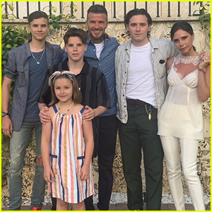 David & Victoria Beckham Share Cute Family Photo on Vacation in Miami!