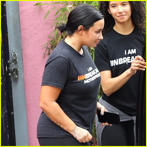 Demi Lovato Hits the Gym After Paying Tribute to Stepfather