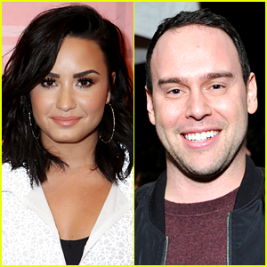 Demi Lovato Supports Scooter Braun, Urges People to Stop Bullying Him
