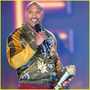 Dwayne Johnson Takes Home Generation Award at MTV Movie & TV Awards 2019 - Watch!