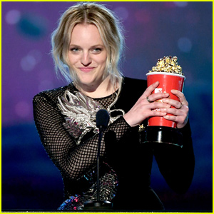 Elisabeth Moss Celebrates Badass Women Following Win at MTV Movie & TV Awards 2019