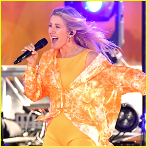 Ellie Goulding Performs Her Hit Songs During 'GMA' Concert - Watch Now!