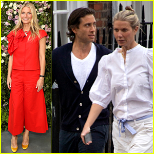 Gwyneth Paltrow & Husband Brad Falchuk Are Spending Time in London!