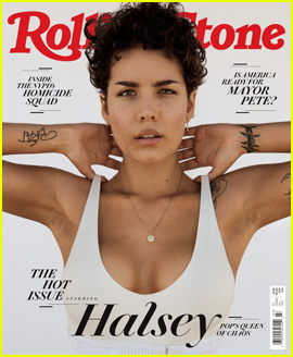 Halsey Gets Real on the Cover of Rolling Stone's Hot Issue