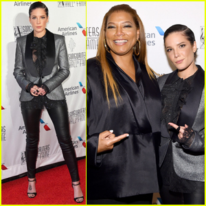 Halsey Joins Queen Latifah at Songwriters Hall of Fame Induction 2019
