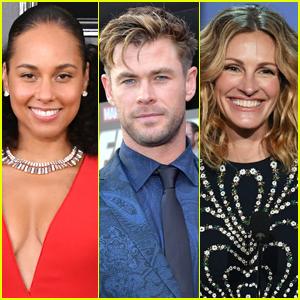 Hollywood Walk of Fame 2020: Alicia Keys, Chris Hemsworth, Julia Roberts, & More to Receive Stars!