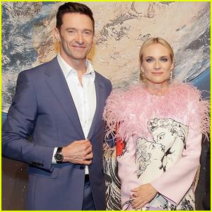 Hugh Jackman & Diane Krugar Celebrate 'Montblanc' Launch