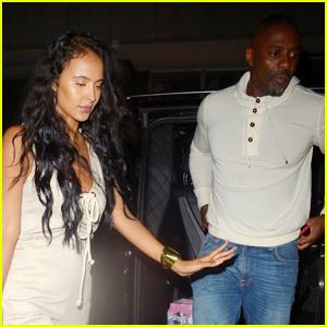 Idris Elba & Wife Sabrina Double Date With Rapper Stormzy