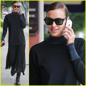 Irina Shayk Appears in Good Spirits Amid Rumors of Bradley Cooper Relationship Problems