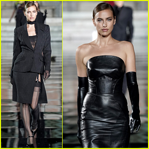 Irina Shayk Joins Top Models on the Runway for First Post-Split Event