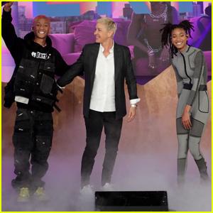 Jaden & Willow Smith Perform New Song 'Summertime in Paris' on 'Ellen' - Watch Now!