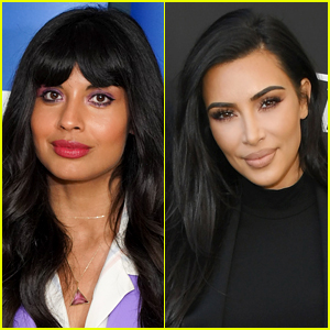 Jameela Jamil Slams Kim Kardashian's Body Makeup: 'Give Yourself a Damn Break'
