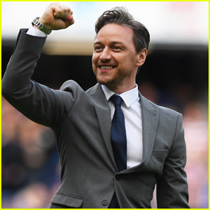 James McAvoy Hits the Field for Soccer Aid For Unicef Game!