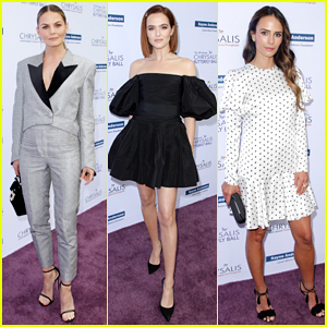 Jennifer Morrison, Zoey Deutch & More Step Out To Support Chrysalis Butterfly Ball!